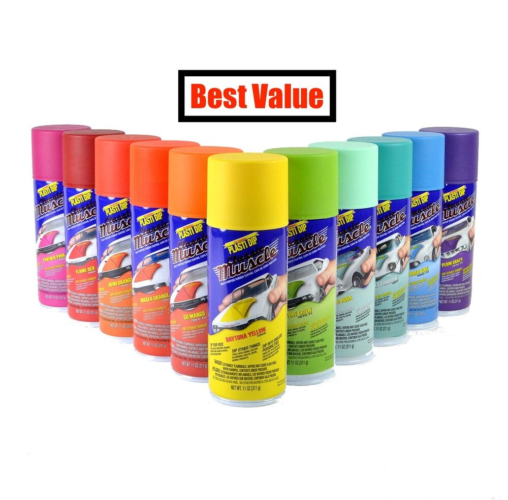 performix plasti dip spray can rubber coating 11oz aerosol all colors. Black Bedroom Furniture Sets. Home Design Ideas