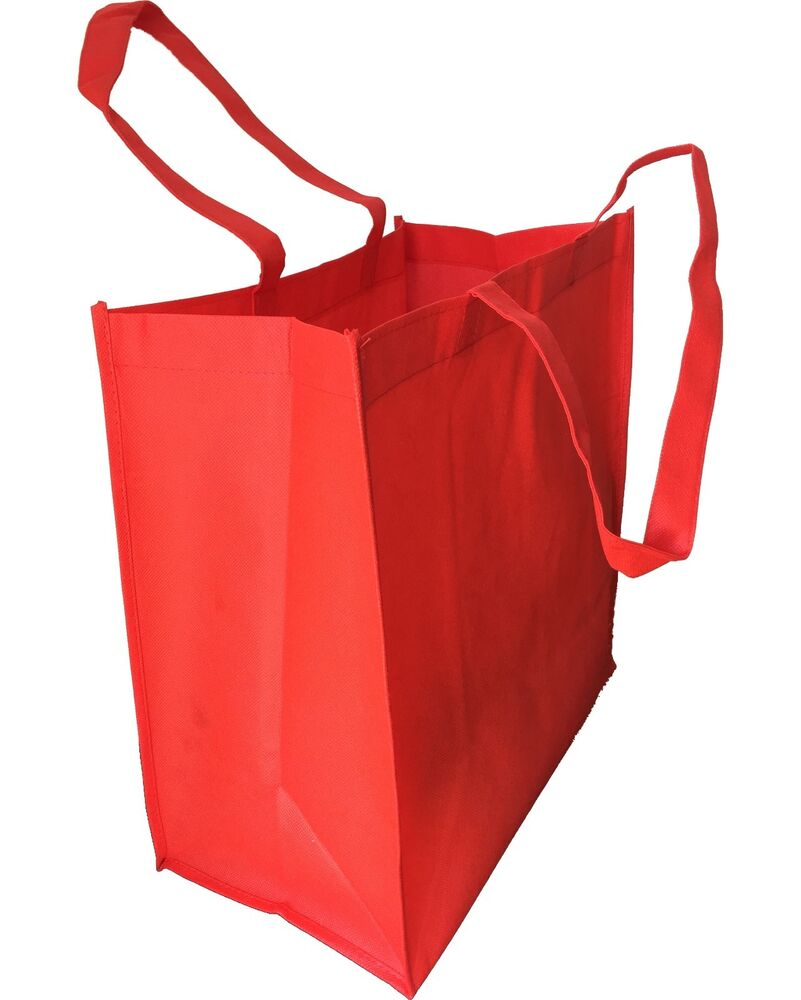Set of 15- EXTRA LARGE RED COLOR GROCERY SHOPPING REUSABLE ...