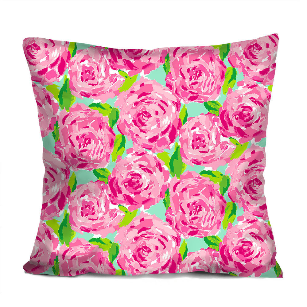 LILLY PULITZER SUMMER Decorative Throw Pillow Case Cushion 18