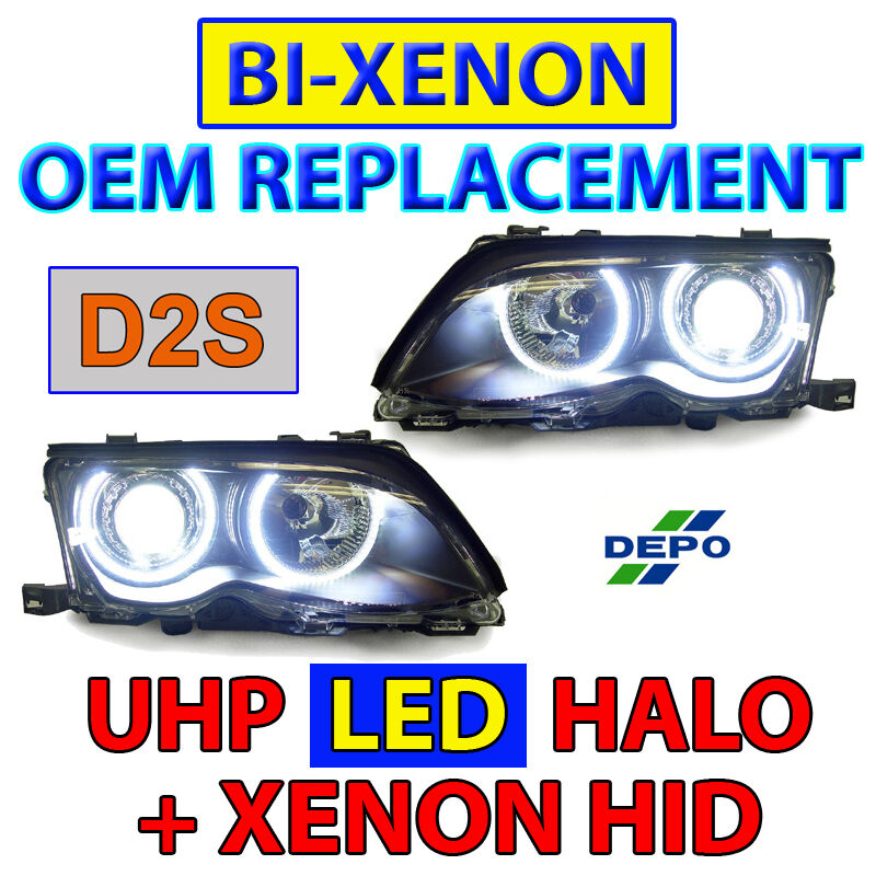 Bmw Xenon Headlight Replacement: OEM Bi-Xenon D2S Replacement 02-05 BMW E46 4D/5D UHP LED