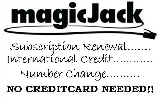 how to pay magicjack renewal