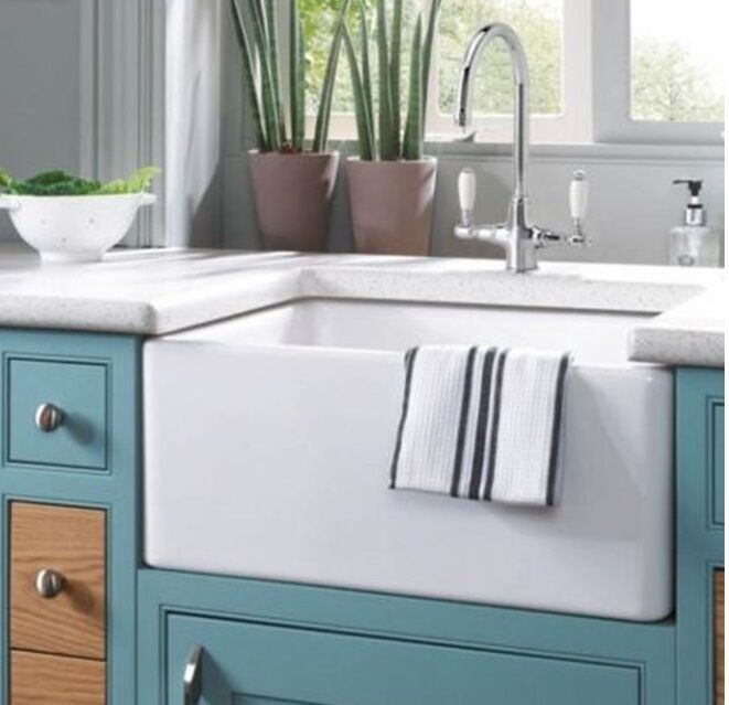 24 inch farmhouse kitchen sink 24 quot 24 inch fireclay farmhouse apron kitchen sink white 7299