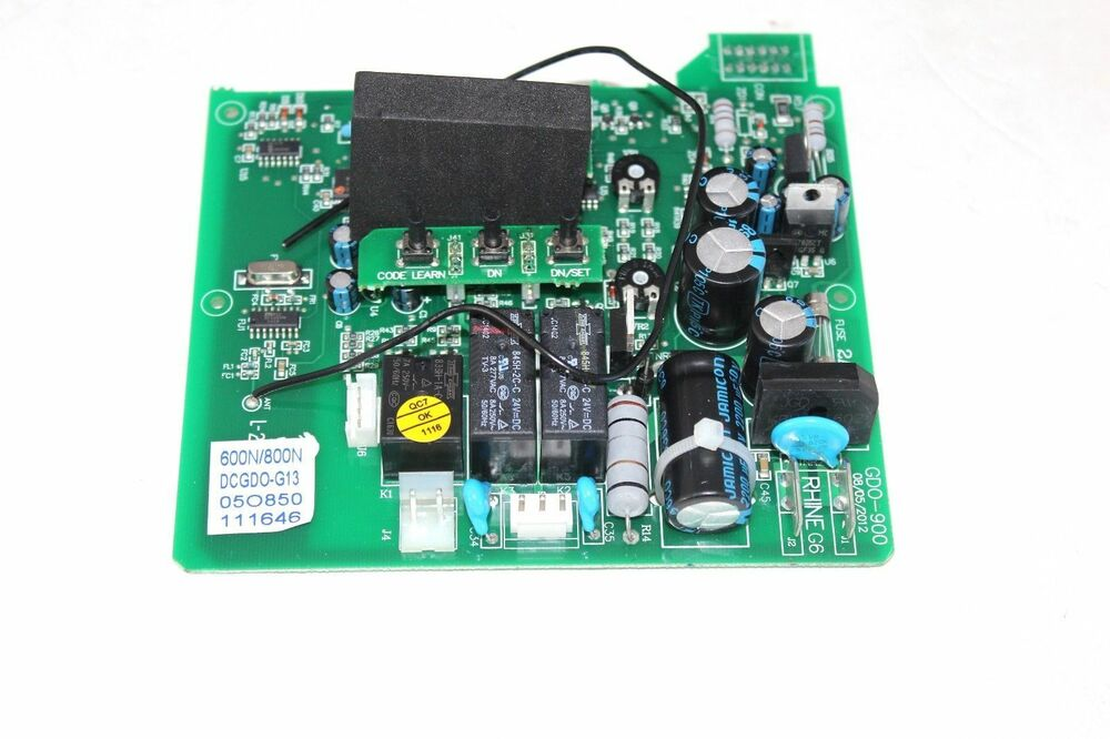 Genie Garage Door Opener Model 2024 Control Board Part