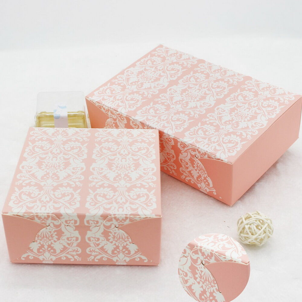 Wedding Gift Box Ebay : ... Box Wedding Party Candy Cake Gift Boxes Pink European Pattern eBay