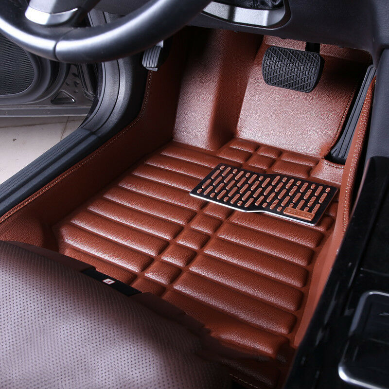 for ford escape kuga 2013 2016 car floor mats front rear liner waterproof mat ebay. Black Bedroom Furniture Sets. Home Design Ideas