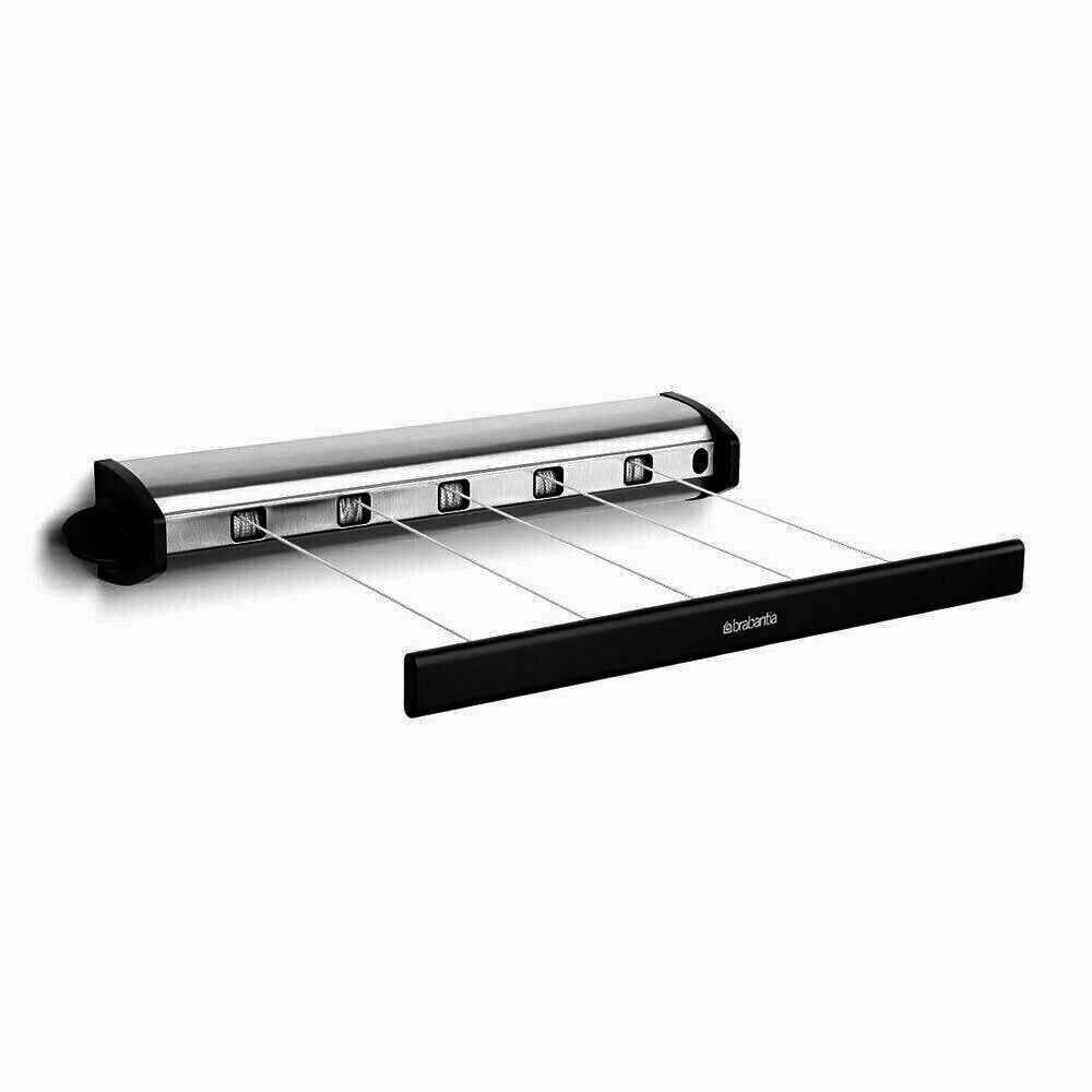 New Brabantia Indoor Retractable 22m Clothes Line Pull Out