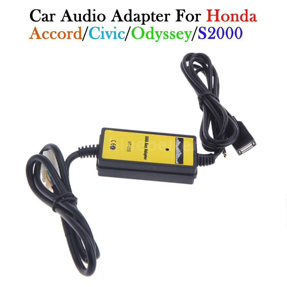 for honda civic ridgeline 2006 2011 car usb aux in adapter. Black Bedroom Furniture Sets. Home Design Ideas