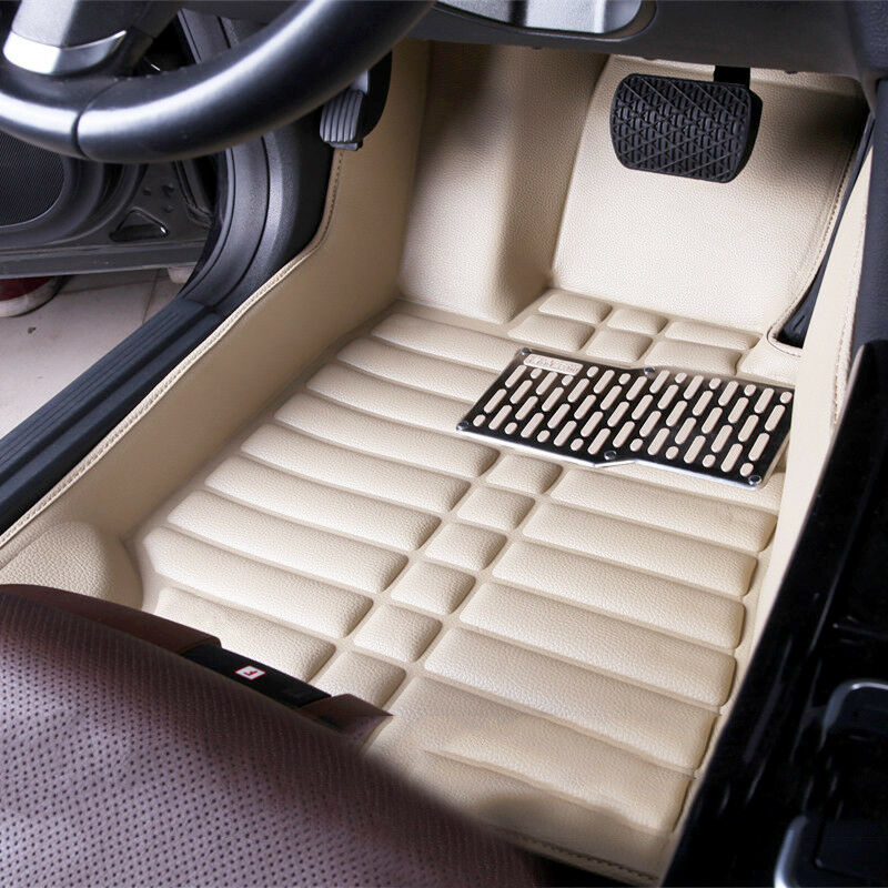For Hyundai Santa Fe 2013 2016 Car Floor Mats Front Amp Rear