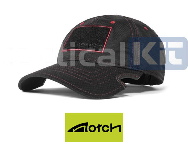Details about Notch Classic Adjustable Athlete Black Red Baseball Sports Cap  Free UK Delivery 0342a09ad80
