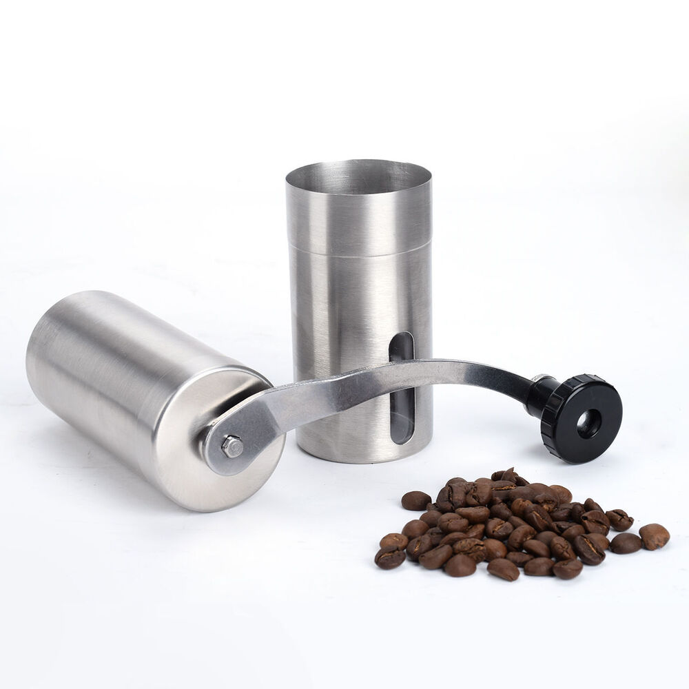 Hand Coffee Grinder ~ Stainless steel ceramic burr portable hand crank manual