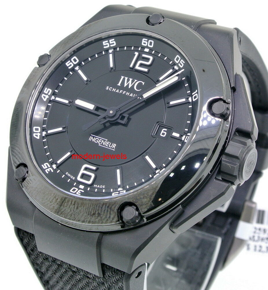 iwc ingenieur automatic amg black ceramic mens watch. Black Bedroom Furniture Sets. Home Design Ideas