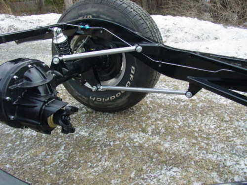 Triangulated Four Bar Rear Suspension Year End Clearance