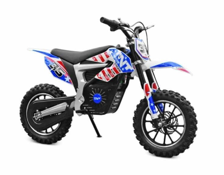 moto dirt bike cross electrique pour enfant 5 10 ans 36v 500w 25 km h coul usa ebay. Black Bedroom Furniture Sets. Home Design Ideas