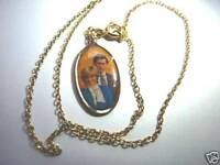 A COLLECTORS ITEM-PRINCESS DIANA OVAL SHAPED NECKLACE - BRAND NEW (35 years old)