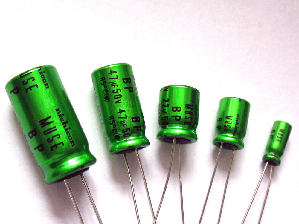 Bipolar Nichicon Audio Radial Capacitors High Quality