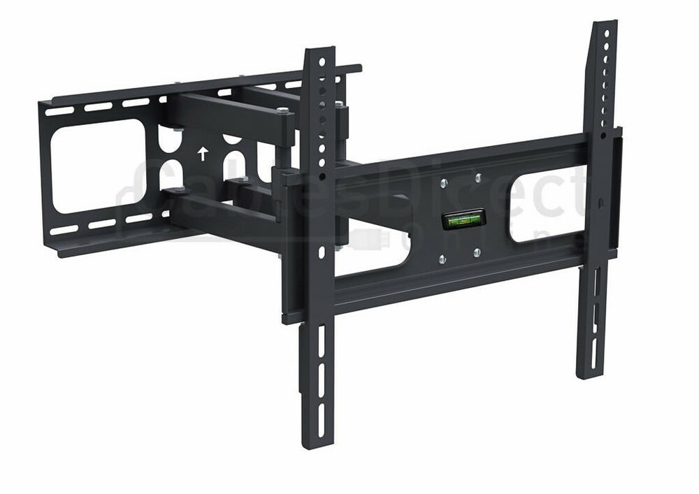 full motion vesa tv wall mount bracket tilt swivel 32 39 40 42 55 inch led lcd ebay. Black Bedroom Furniture Sets. Home Design Ideas