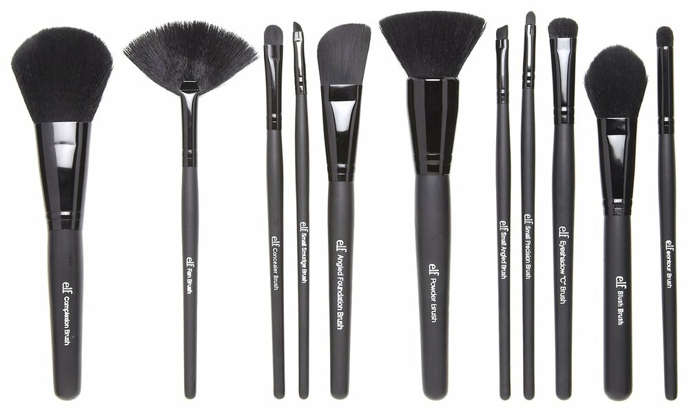 elf eyebrow brushes. e.l.f cosmetics makeup eyeslipsface studio brush professional brushes elf | ebay eyebrow f