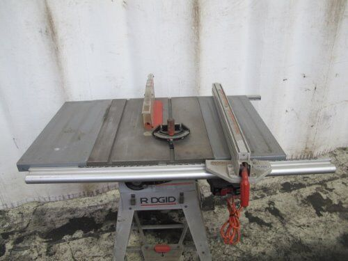 Ridgid Ts2412 1 Table Saw Ebay