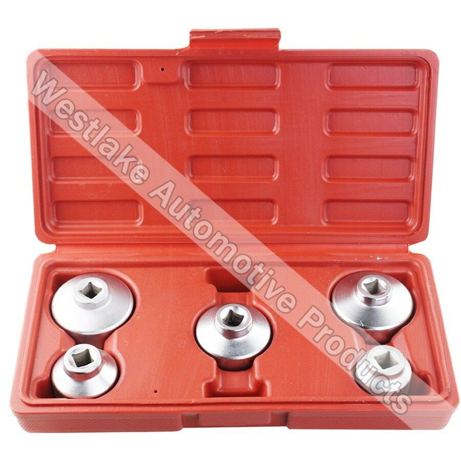 5pcs oil filter cap wrench set for mercedes benz bmw ford for Mercedes benz oil filter cap wrench