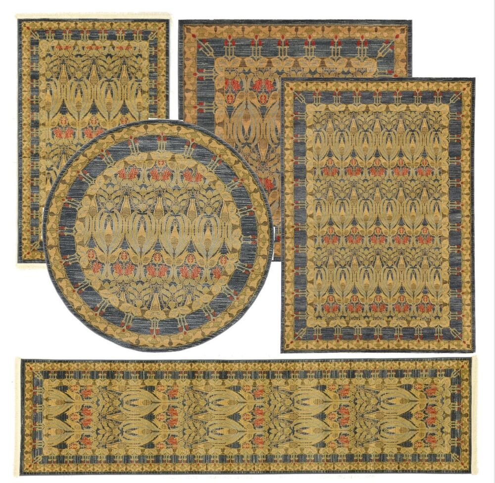 Persian Gabbeh Style Carpet Traditional Oriental Area Rug