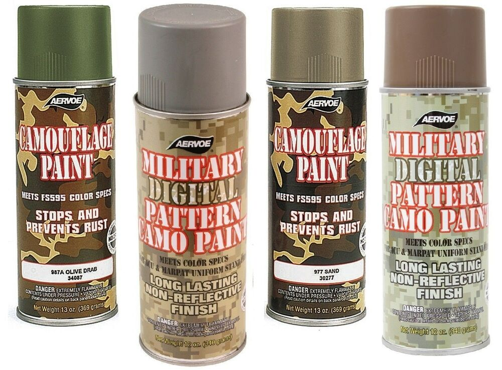 Foliage Green Camo Spray Paint