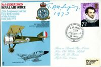 Great War aircraft designer Tom Sopwith signed cover UACC RD