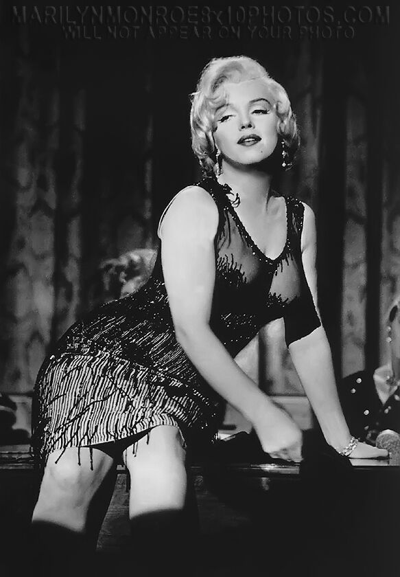 Marilyn Monroe In Sexy Seethru Dress 1 Rare 4X6 Photo  Ebay-8057