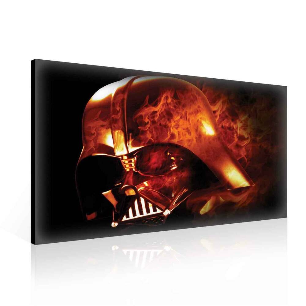 star wars darth vader xl leinwand bilder wandbild ppd1211fw ebay. Black Bedroom Furniture Sets. Home Design Ideas