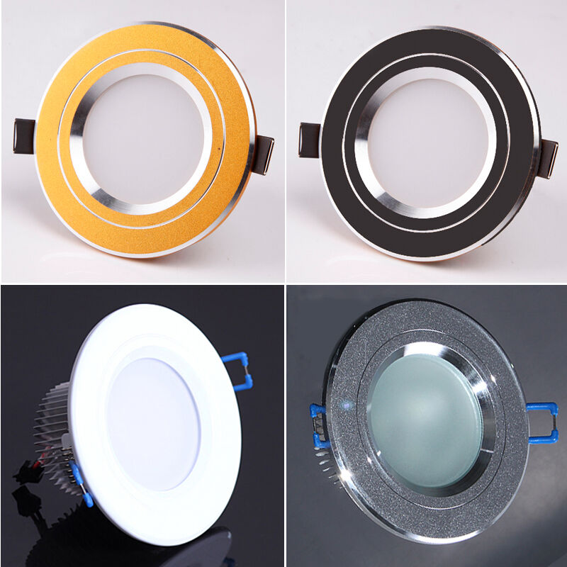 recessed led lights for kitchen new 3w white warm led kitchen cabinet recessed ceiling 7644
