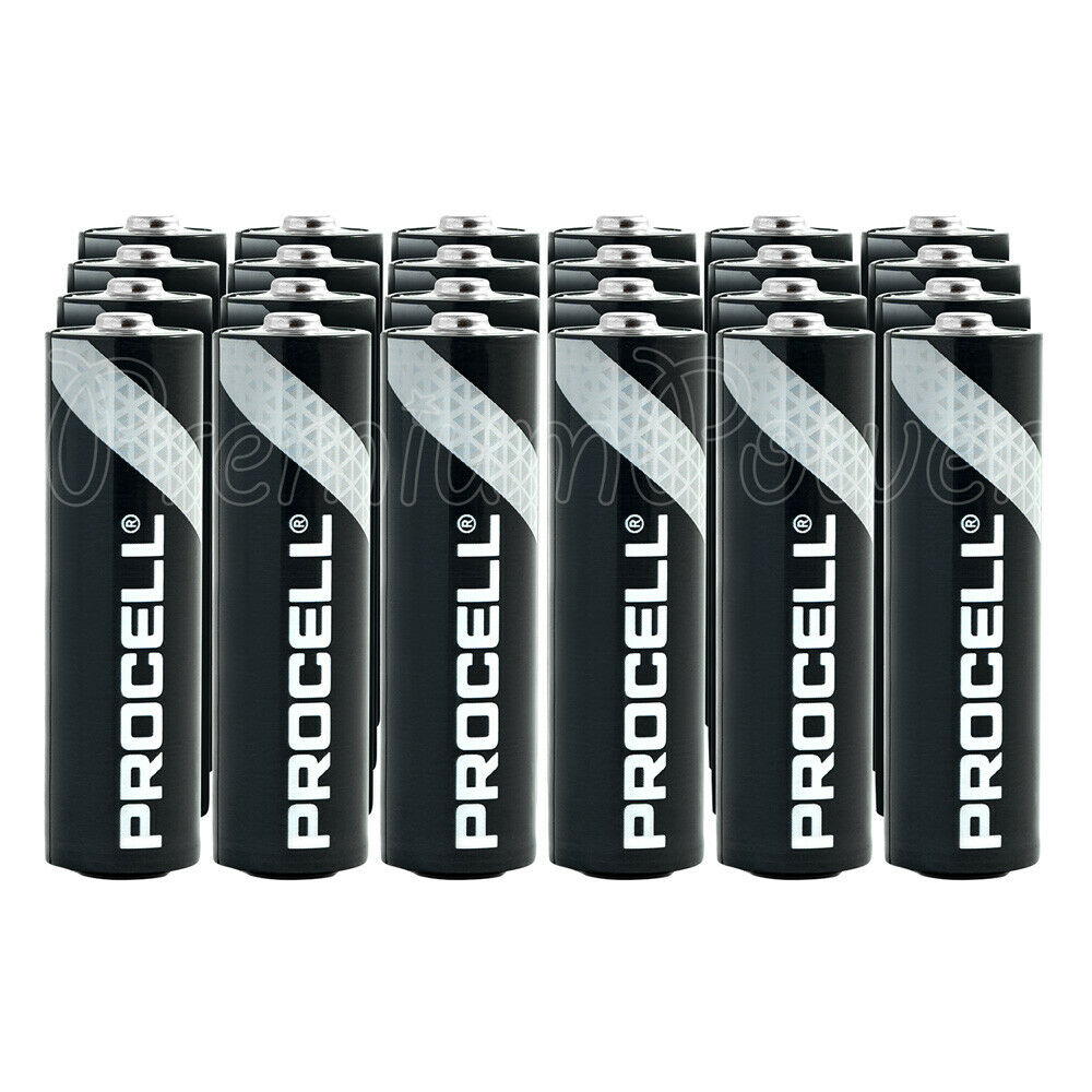 30 x duracell aa batteries alkaline industrial procell lr6. Black Bedroom Furniture Sets. Home Design Ideas