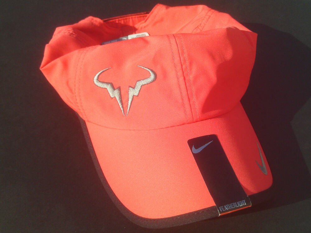 Crimson NIKE Nadal Bull Men Women s Cap DRI-FIT FEATHERLIGHT Tennis Hat fd19de9f9eb