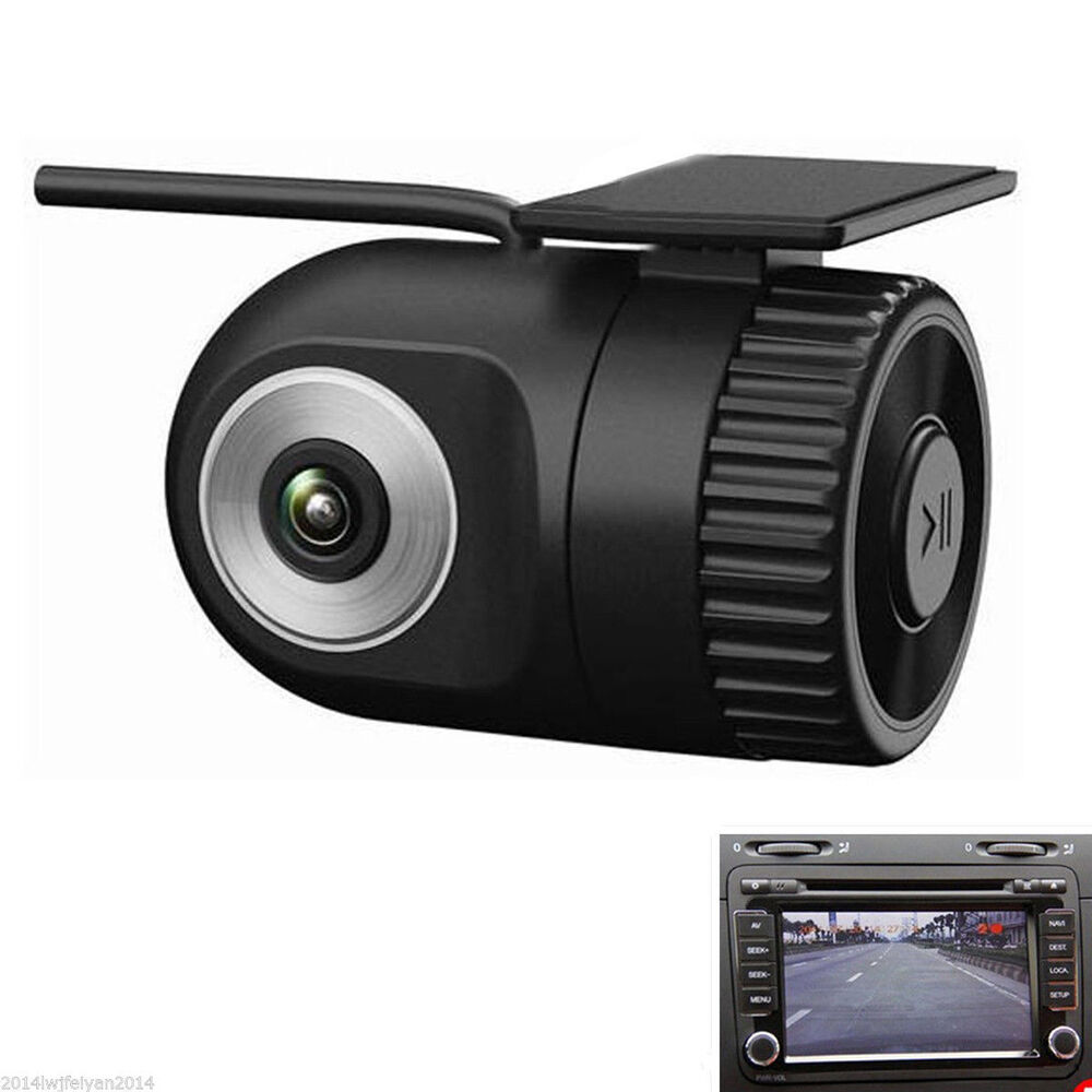 mini dash cam car dvr video recorder vehicle camera black. Black Bedroom Furniture Sets. Home Design Ideas