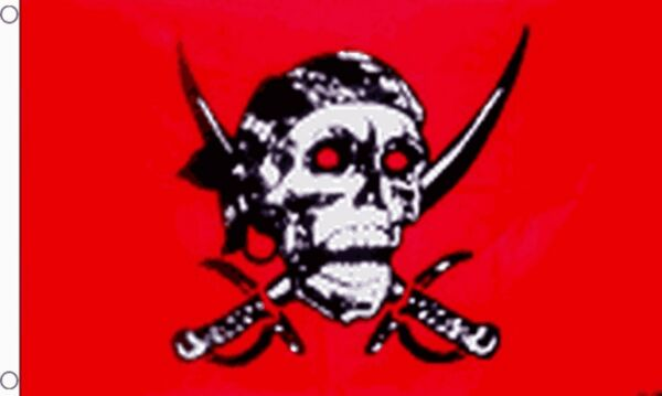 NO GUTS NO GLORY FLAG Size 5x3 Feet SKULL AND PIRATE FLAGS