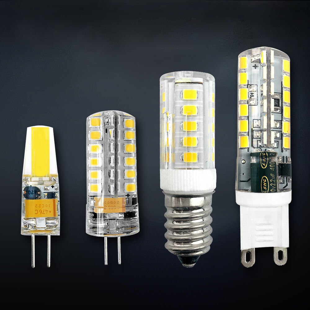g4 g9 e14 led bulb cob light 3w 6w 9w dimmable lamp ac dc12v 220v smd halogen ebay. Black Bedroom Furniture Sets. Home Design Ideas
