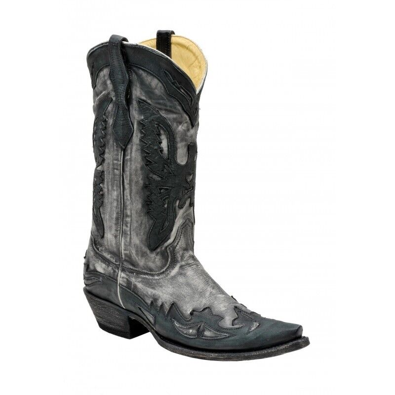 Corral Men S Snip Toe Western Cowboy Leather Boots