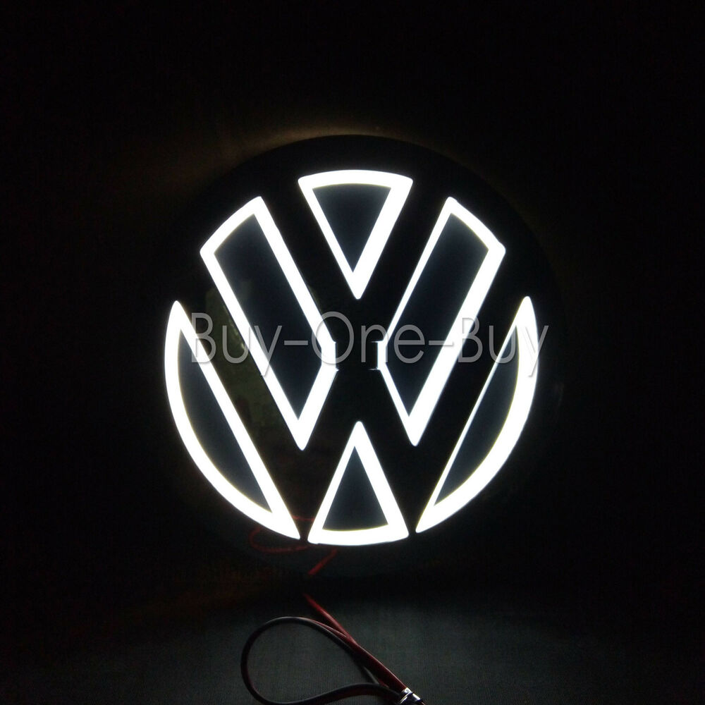 5d Reflective Led Logo Emblem Badge Decal Sticker Lights