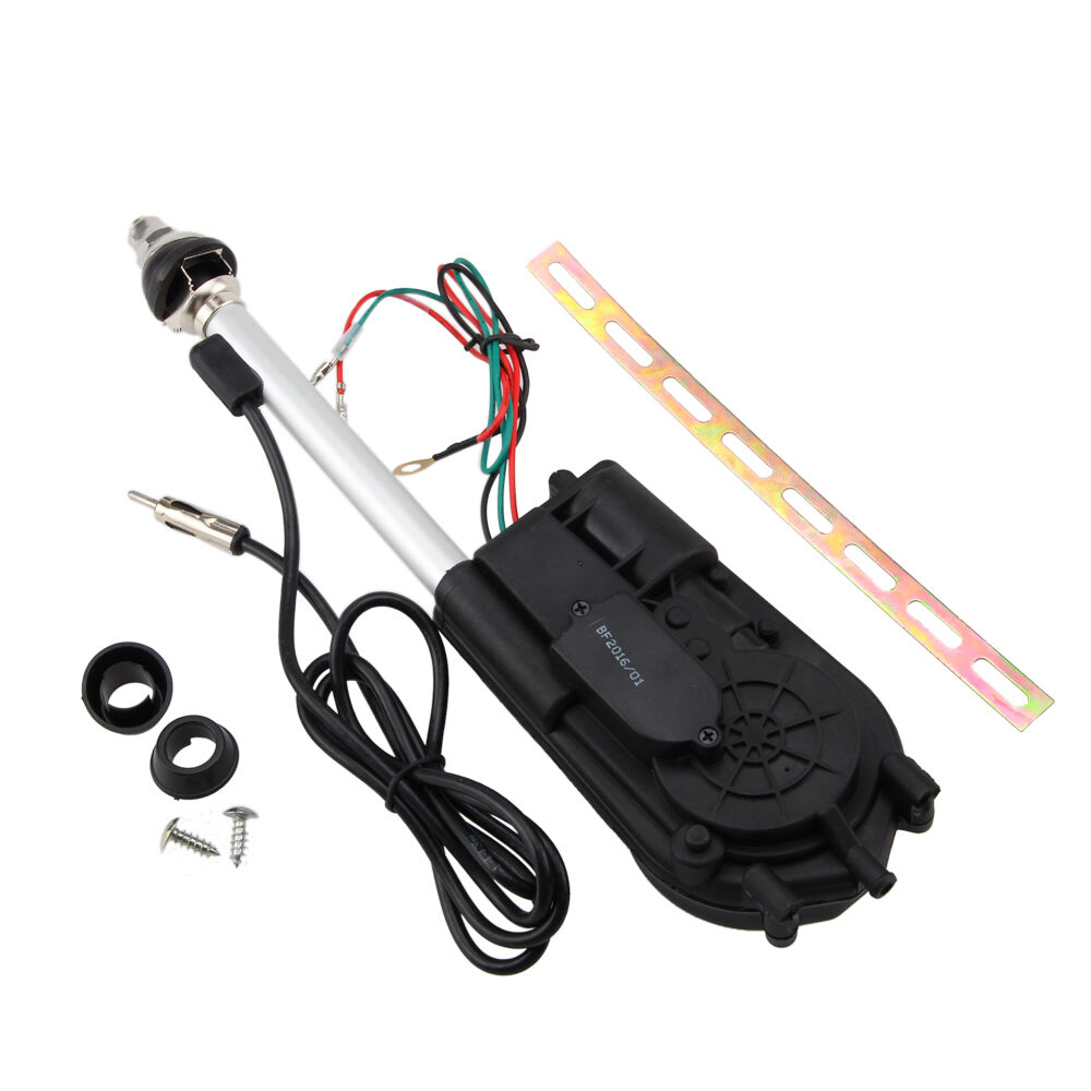 12V Universal Electric Power Antenna Replacement Kit Car