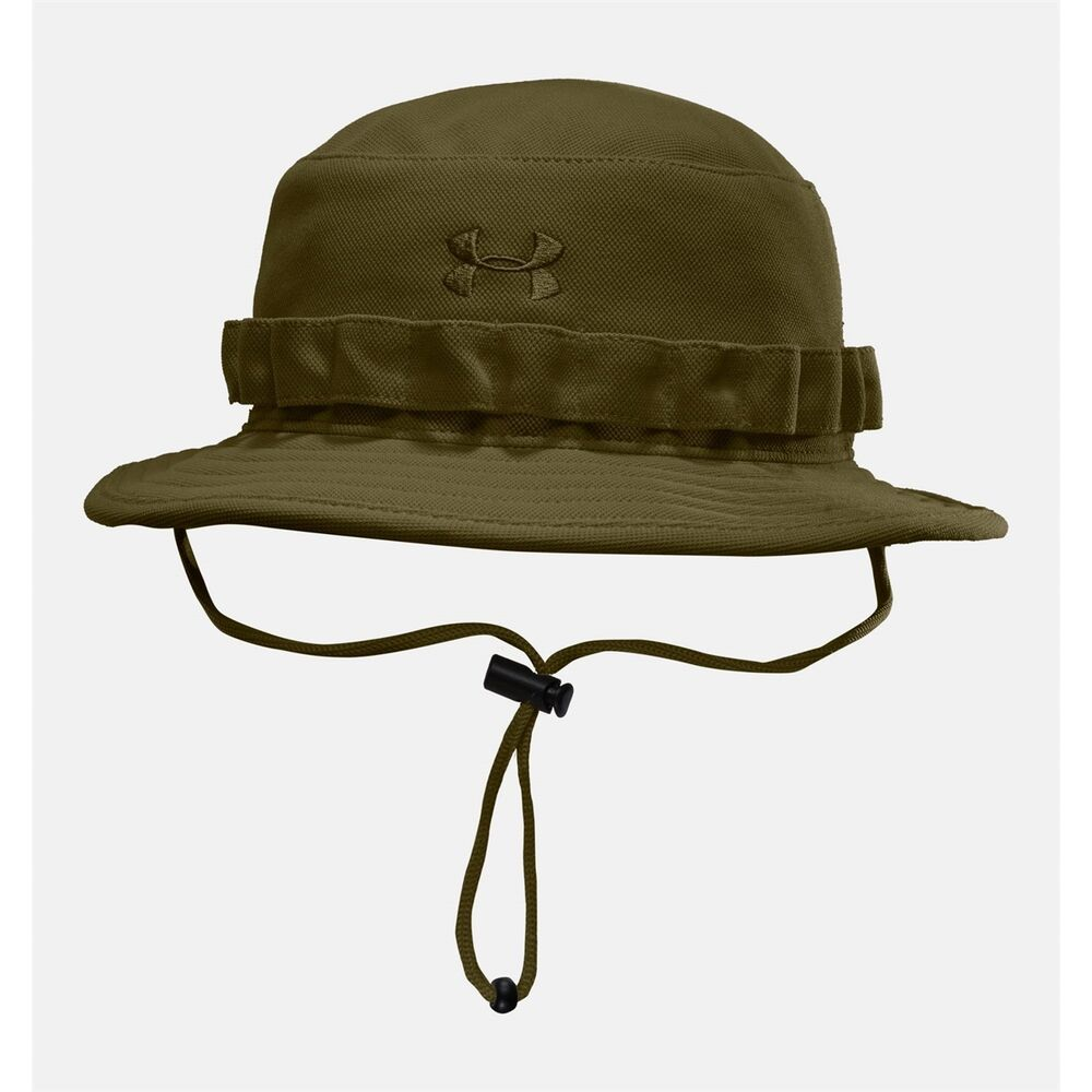 Under armour men hats tactical bucket hat green ebay for Under armor fishing hat