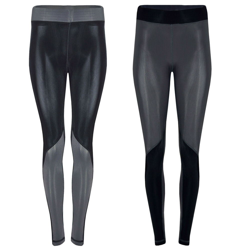 Womens Compression Fitness Leggings Running Yoga Gym Pants
