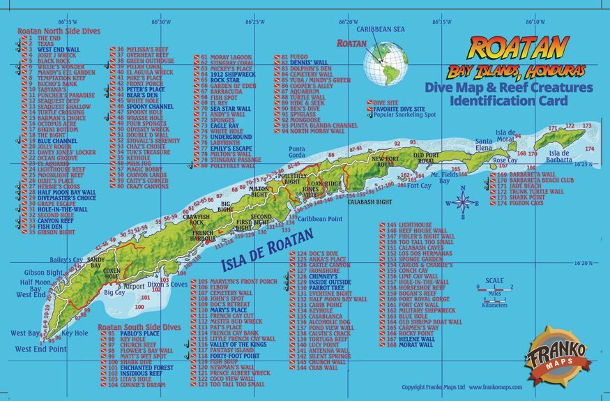purchasing valium in roatan map images