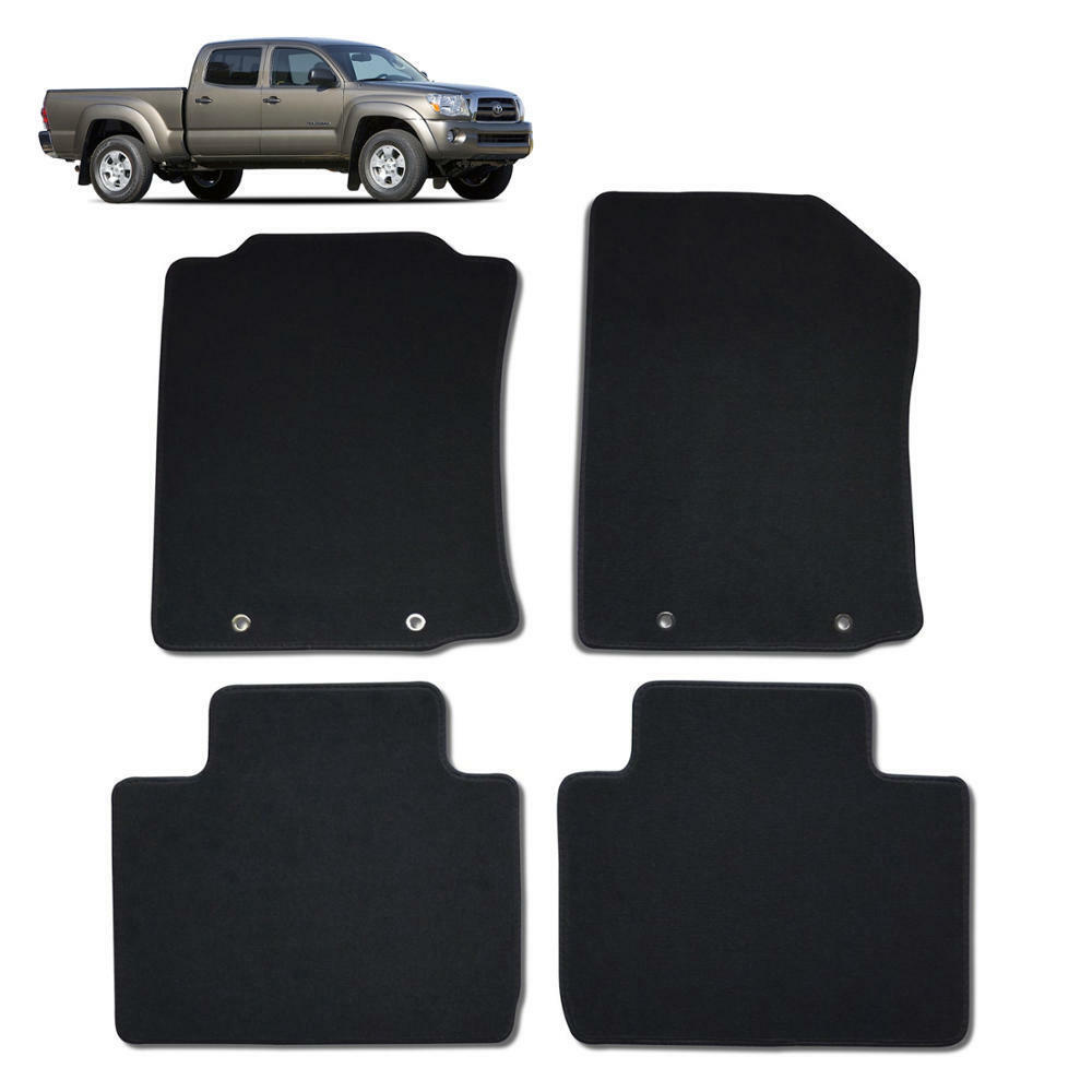 tacoma custom fit floor mat for 2005 to 2013 exact fit oem replacement 4 pcs ebay. Black Bedroom Furniture Sets. Home Design Ideas