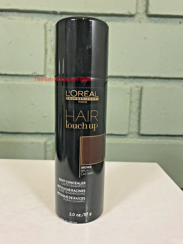 L Oreal Hair Touch Up Root Concealer Brown 2oz New