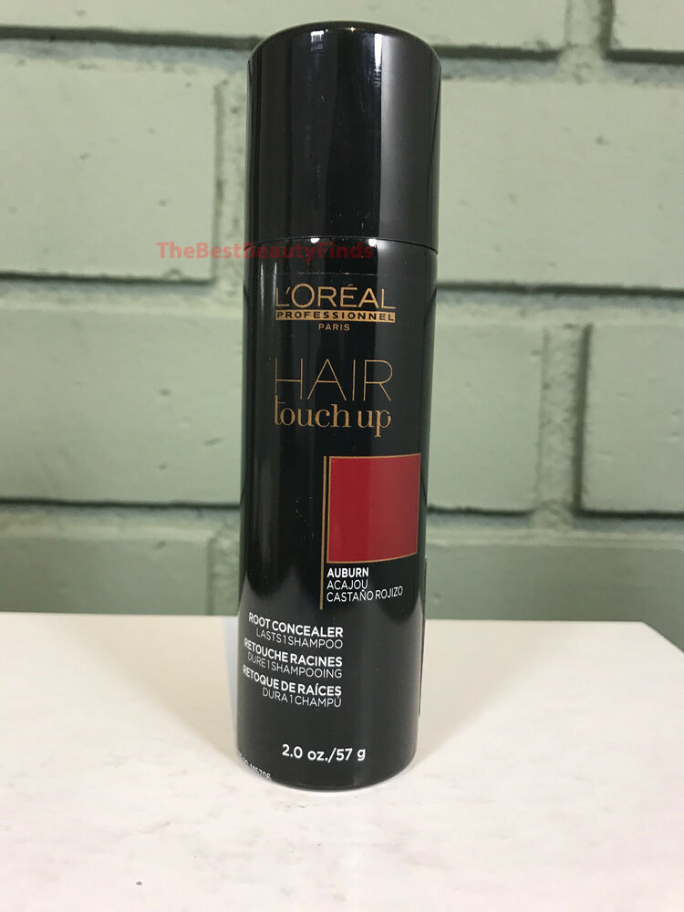L Oreal Hair Touch Up Root Concealer Auburn 2oz New