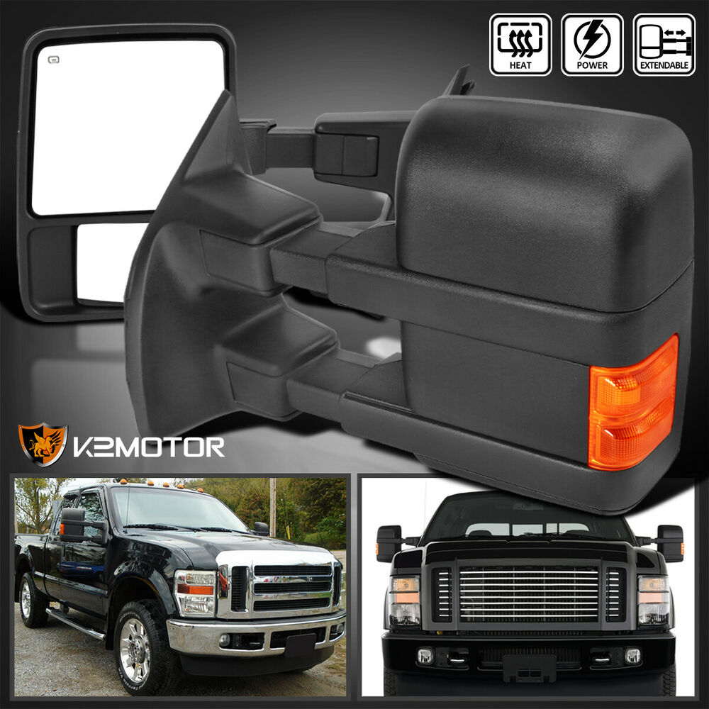 08 16 F250 F350 F450 Superduty Power Heated Extend Towing