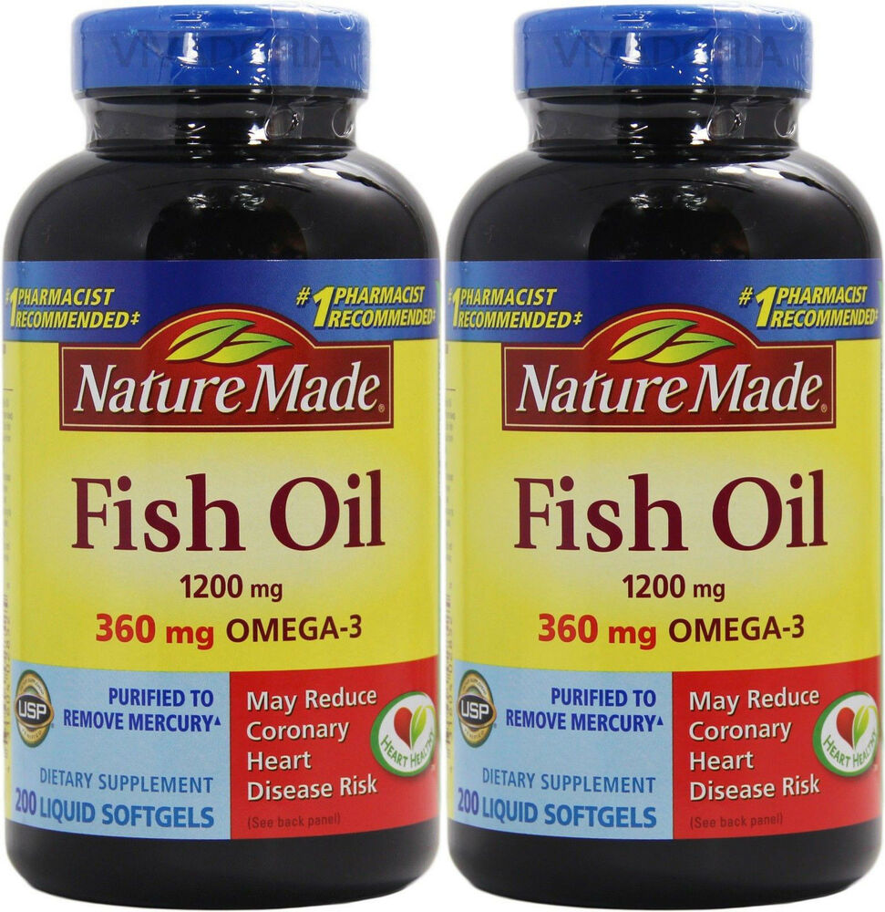 Nature Made  Mg Fish Oil With Mg Omega