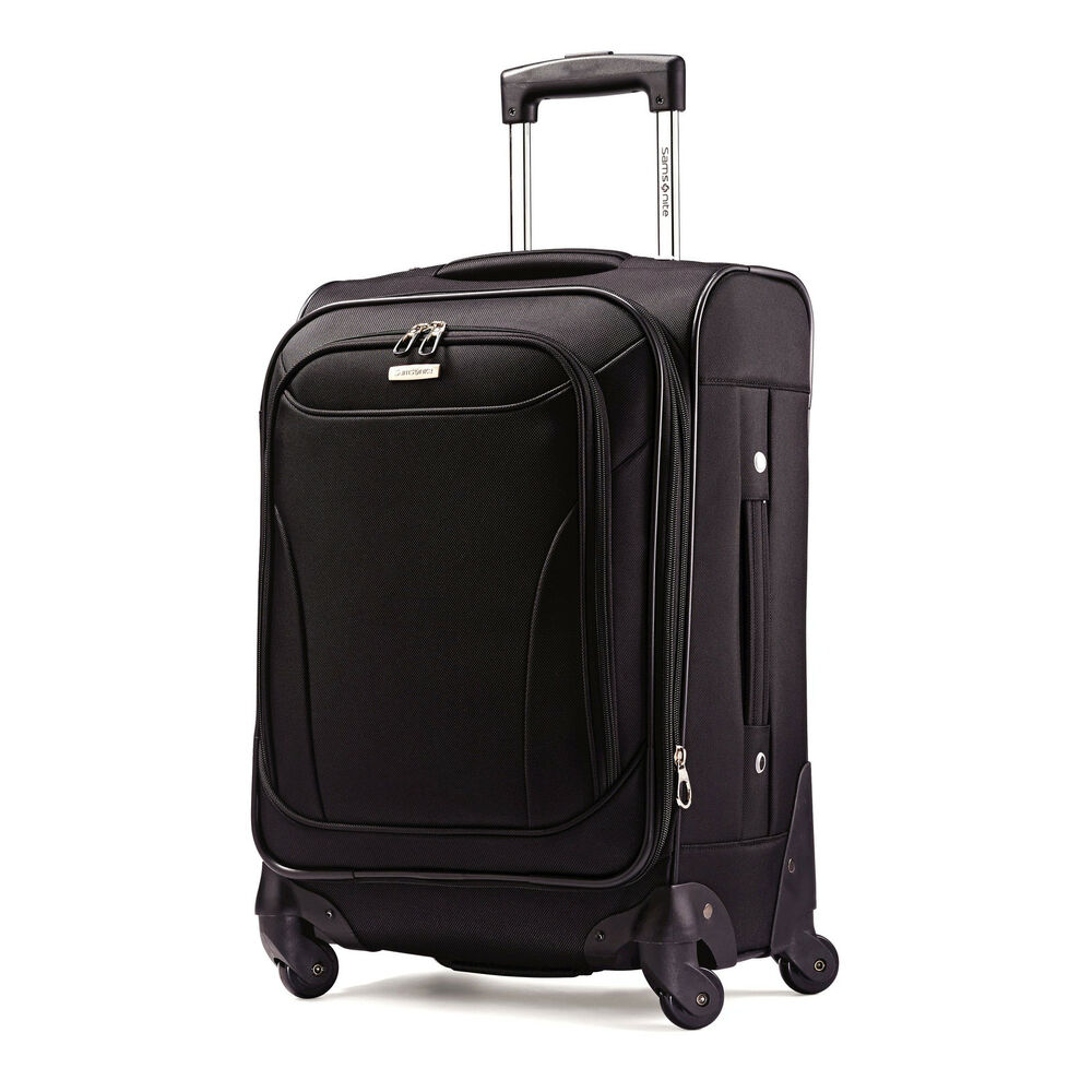 Samsonite. Investing in a good set of luggage can help you make the most of that upcoming getaway or business trip. Rely on the sturdy construction and high-quality materials of Samsonite luggage for all your travel needs.
