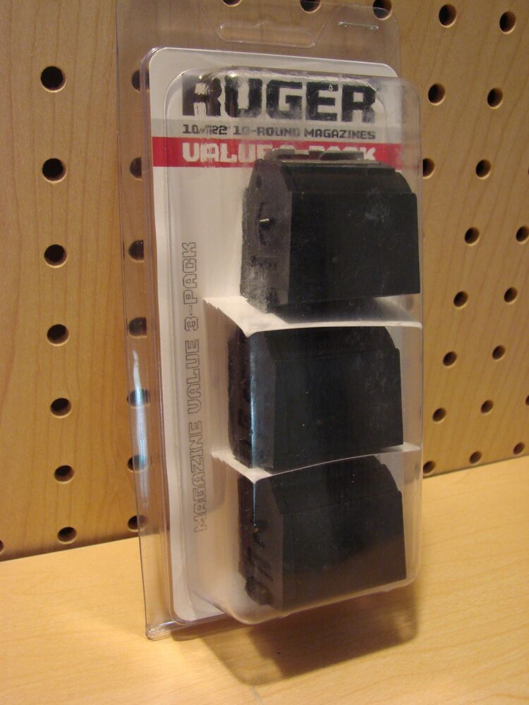 22 New Years Nail Nail Art Designs Ideas: 3 Pack Ruger 10/22 Magazines 22 LR BX-1, 10 Round Clips