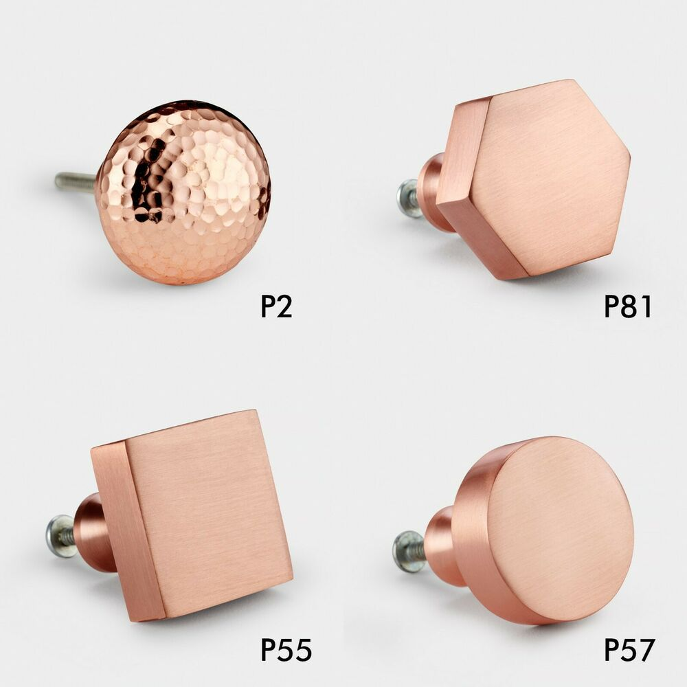 Copper Plated Round Square Hexagonal Cupboard Bedroom