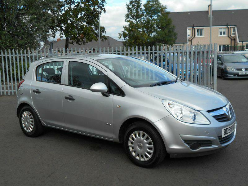 2009 vauxhall corsa 1 3 cdti 16v life 5dr ebay. Black Bedroom Furniture Sets. Home Design Ideas