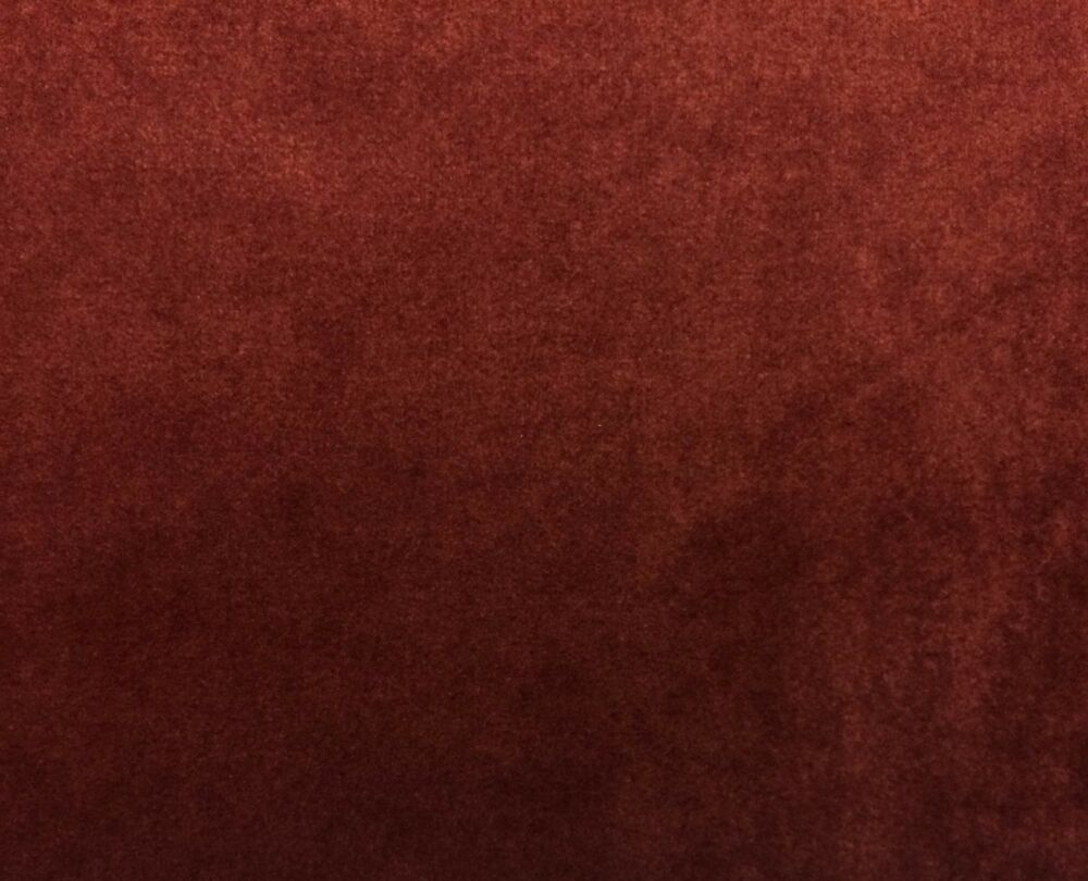 Kravet Couture Mohair Rust Red Wool Velvet Multiuse Fabric